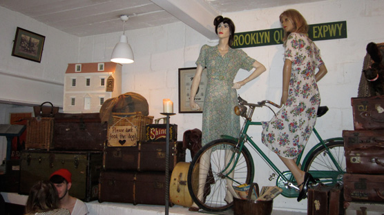 Vintage Heaven, 14 Bacon Street, off  Brick Lane, E1 6LF. Tel: 020 7739 0799
