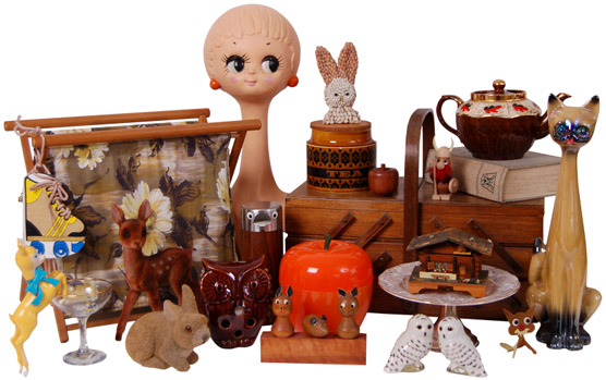 A fine selection of goodies from the Thrift-ola online shoppe!
