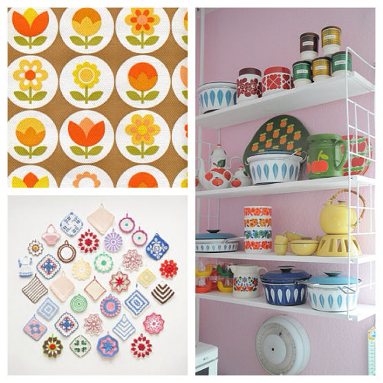 Thrift-ola Kitchenette on Pinterest.