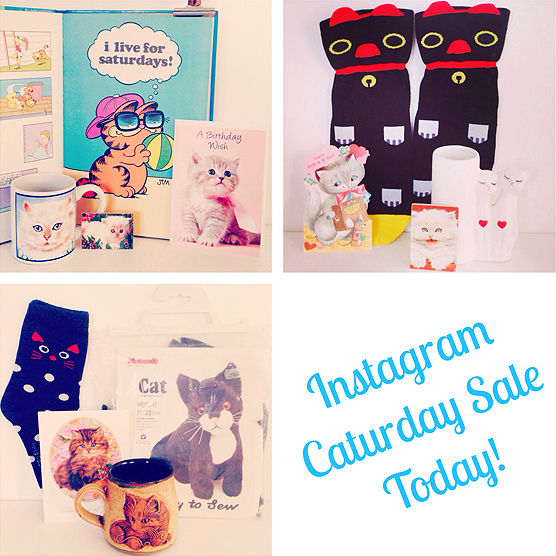 Instagram Caturday Sale - today!