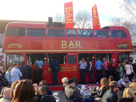 A Routemaster bus bar.