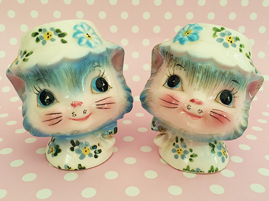 Miss Priss Salt and Pepper Shakers