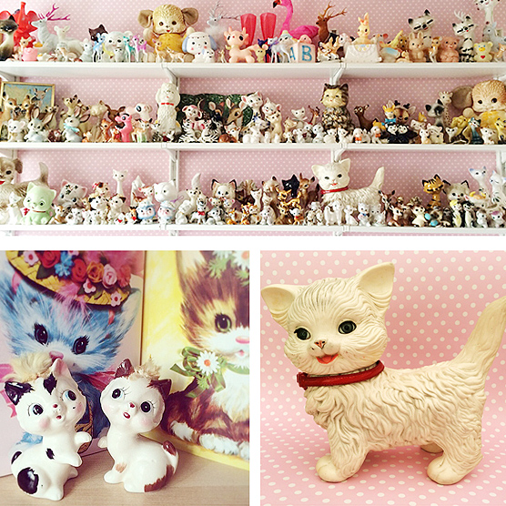Holy macaroni! Welcome to the world of creepy cute kitschy pastel goodness of Jess Reeves.