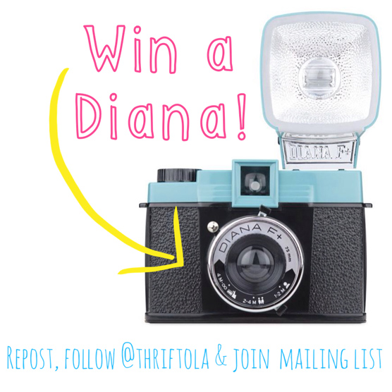 Thrift-ola X Lomography Giveaway!